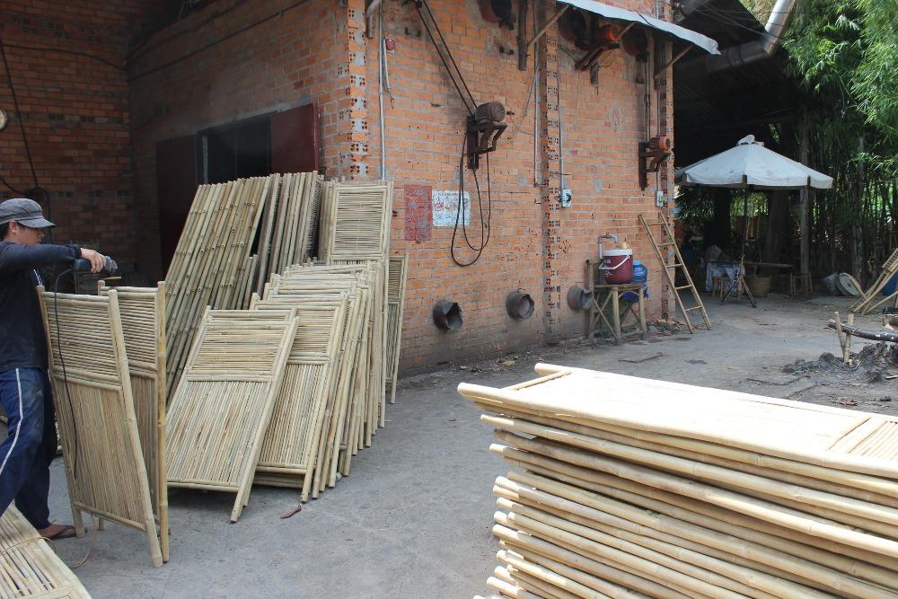 Bamboe Ladder Badkamer : Natuurlijke bamboe handdoek ladder voor decoratie badkamer
