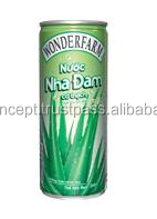 Wonderfarm Aloe Vera Drink 240ml / Wholesale Fruit Juice Drinks / Aloe vera Soft Drink