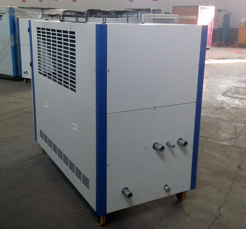 Small Cooling Unit : Small recirculation cooling water system chiller for
