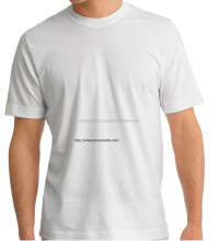 wholesale plain white t shirts for men 95% Cotton, 5% elasthan