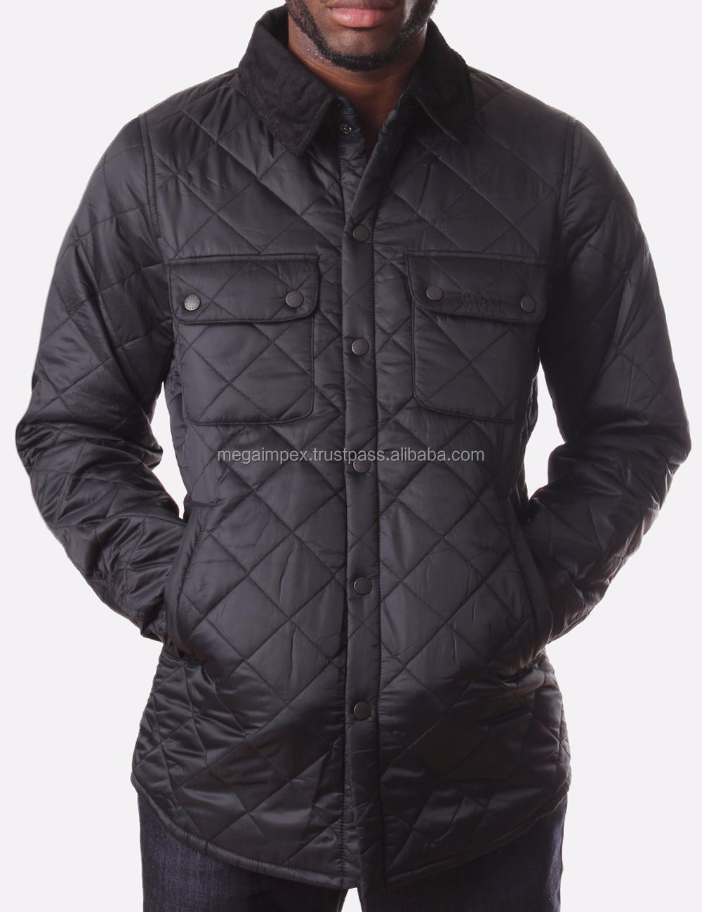 Brown Diamond Quilt Leather Bomber Jacket Men - Buy Fancy Jacket ...