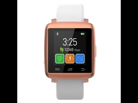 Synergy SW1402 Bluetooth 4.0 Heart Rate Monitor Smart Watch