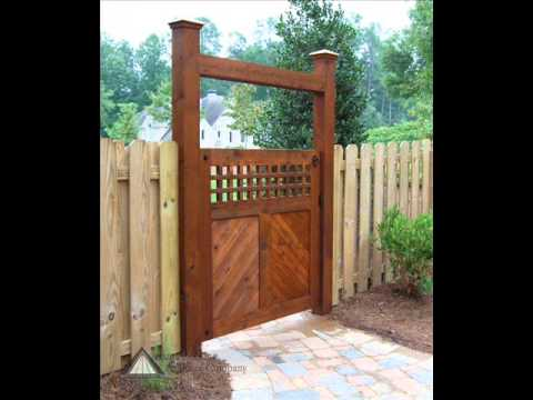 Get Quotations · Aluminum Garden Gate Designs I Garden Gate Arbor Plans I Garden  Gate Building Plans