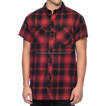 Short Sleeve Men S Flannel Shirt Short Sleeve Men S Stylish Flannel