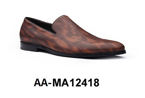 MA12418 Men's Leather Genuine AA Dress Shoe 4xSwqqHP