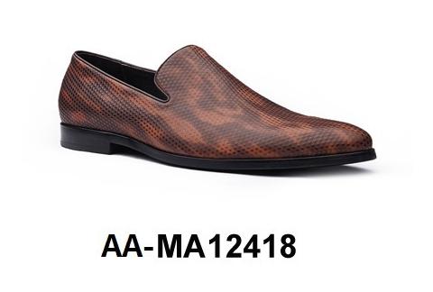 Genuine AA Dress Men's Leather Shoe MA12418 HxRBH