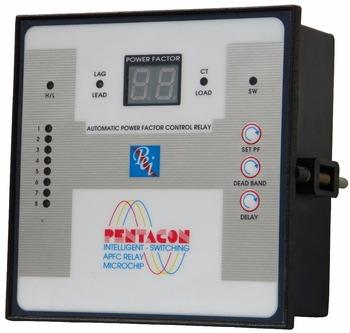 apfc relay Etacon series automatic power factor controller  erpml12d500 etaconl12 12 stage apfc relay 5a/ 415v 12 etacon l variants dimensions in mm 96 92 92 96.