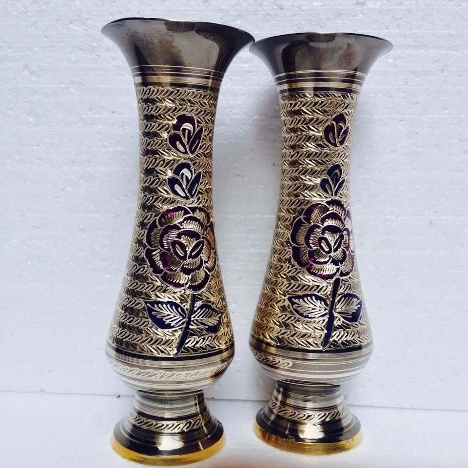 Brass vases wholesale brass suppliers alibaba reviewsmspy