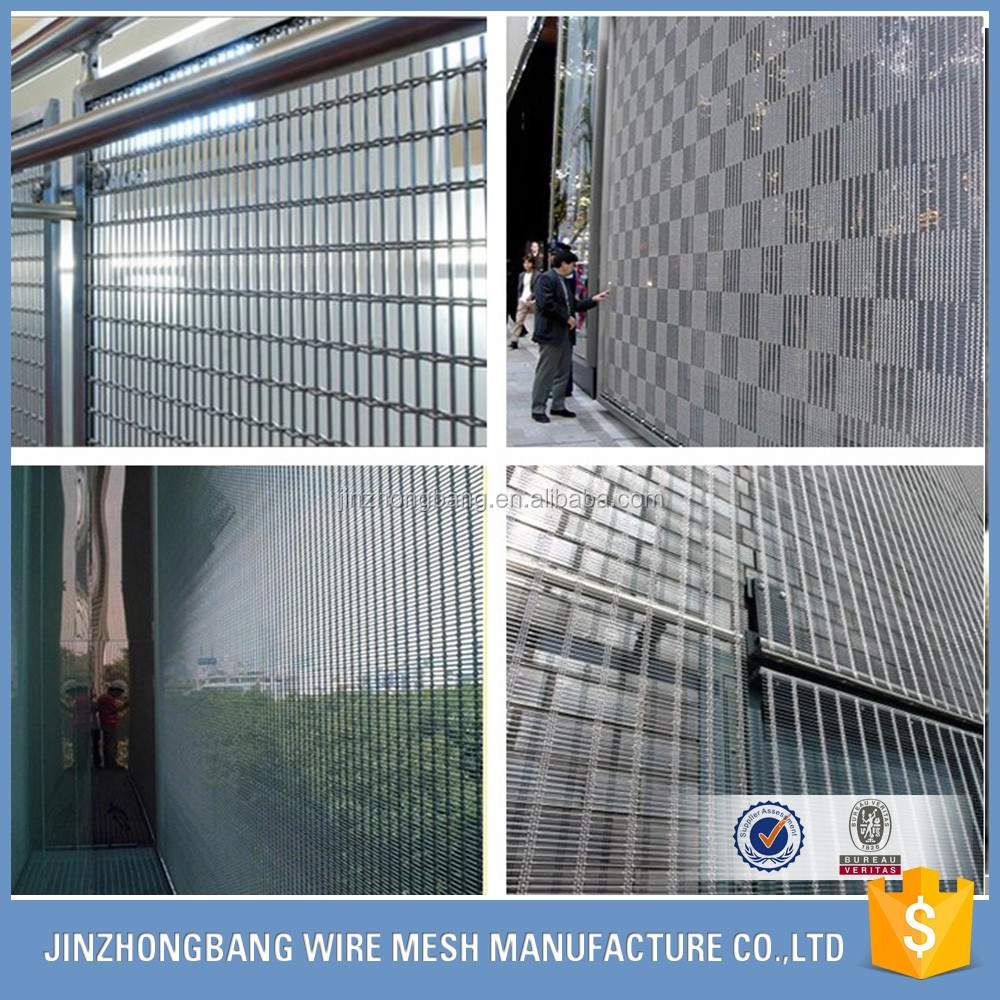 Architectural Decorative Stainless Steel Elongated Mesh Facade ...