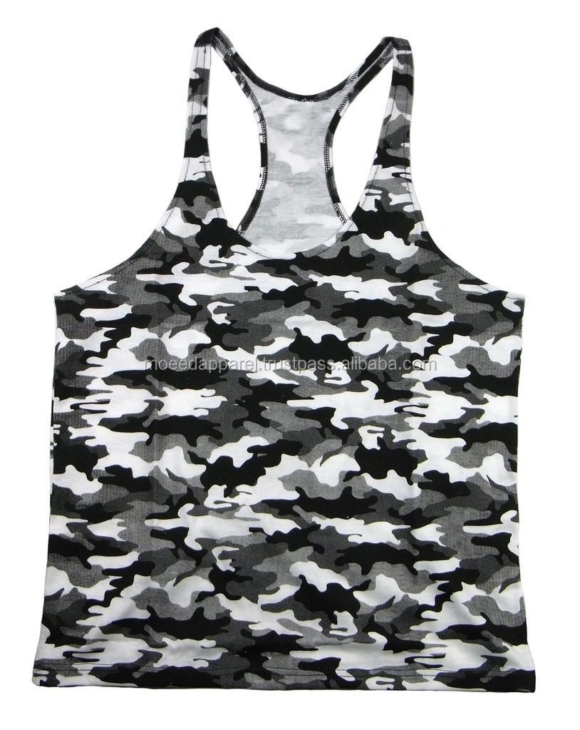 9fcb6b12f46da2 Men s gym sports vest slim fit stringer tank tops low cut custom wrestling  singlet