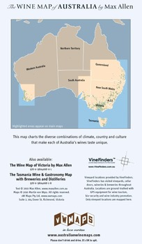 Buy Map Of Australia.The Wine Map Of Australia By Max Allen Buy Wine Map Of Australia