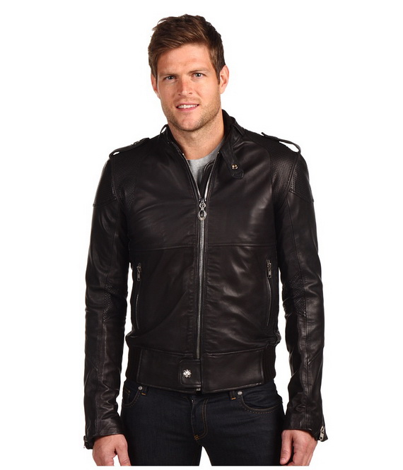 Slim Fit Cheap Leather Jacket Men Natural Leather Jackets - Buy ...