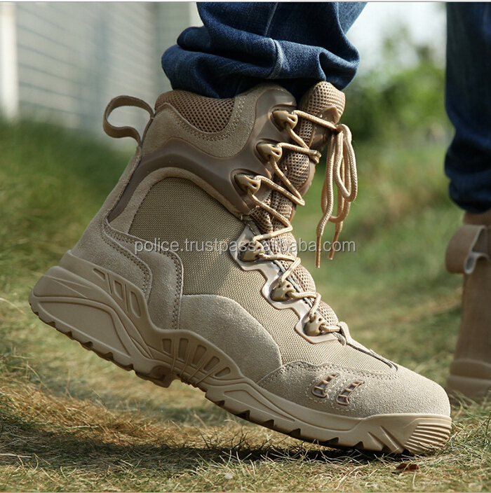 2017 desert color genuine leather good quality DELTA tactical boots