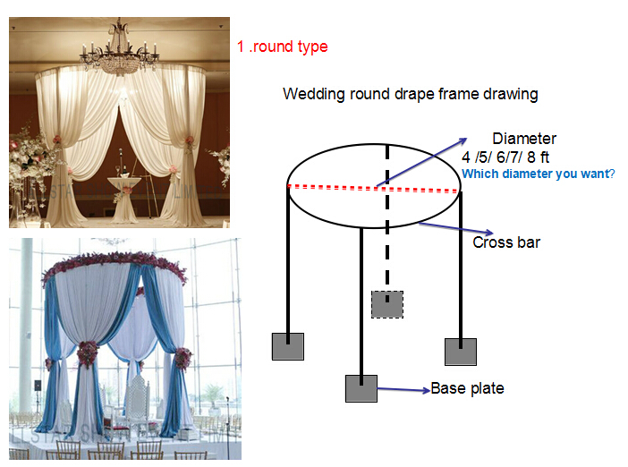 Antique wedding decoration event crystal candle stand pipe and drape antique wedding decoration event crystal candle stand pipe and drape exhibition junglespirit Image collections