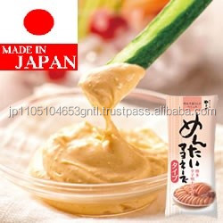 Japanese and Delicious mayonnaise dressing , spicy cod roe flavor , mayonnaise plastic bottle
