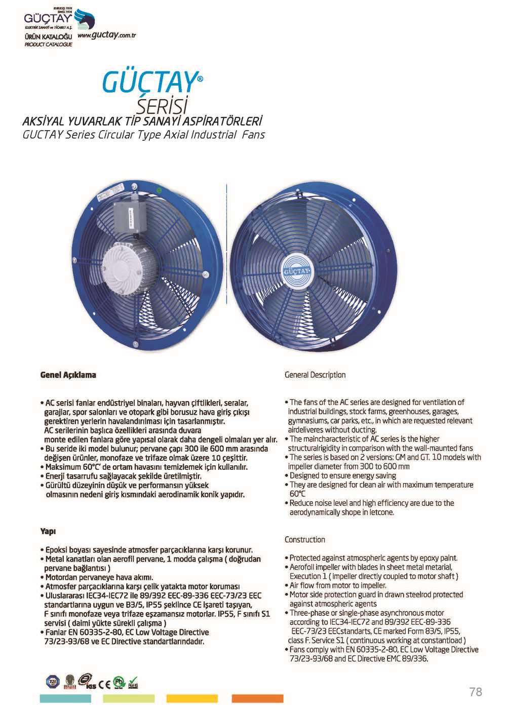 Axial Industrial Fan