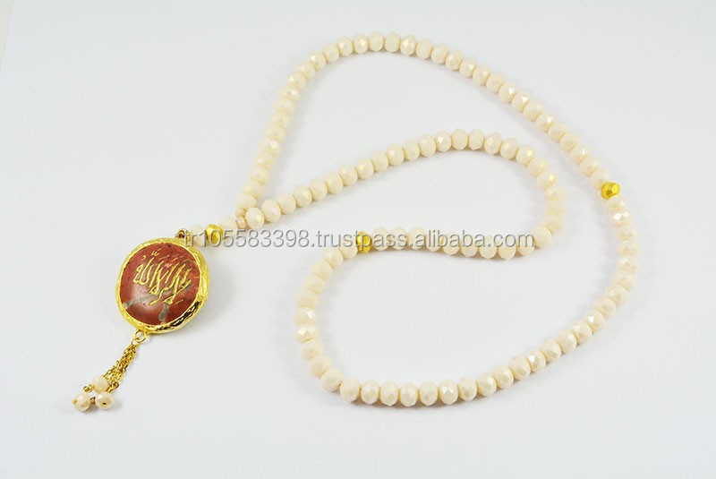 Muslim rosary necklace