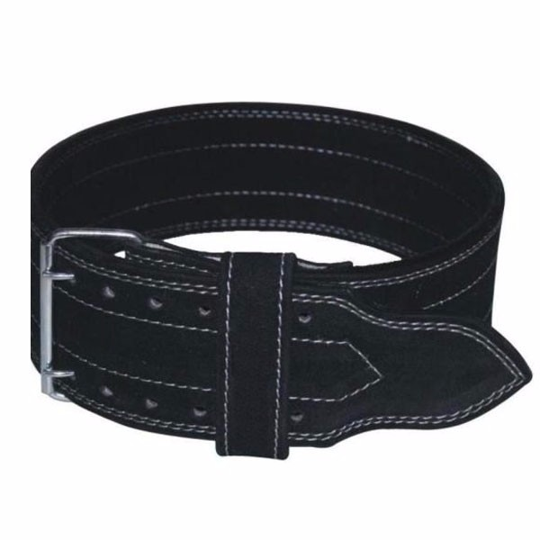 Super Heavy Cow Hide Suede Weight Lifting Power Belts