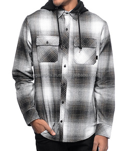 new fashion Man casual checks flannel shirts