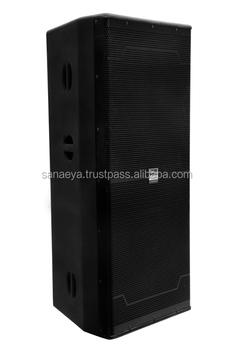 Unique 1000w Dual 15 Inch Speaker High Dj Box