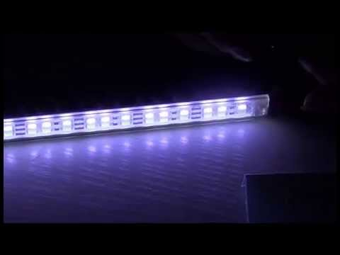 Double Row LED Strip Bar Waterproof 39.3inch 5630 1M Rigid LED Strip 12V 144LEDs/M