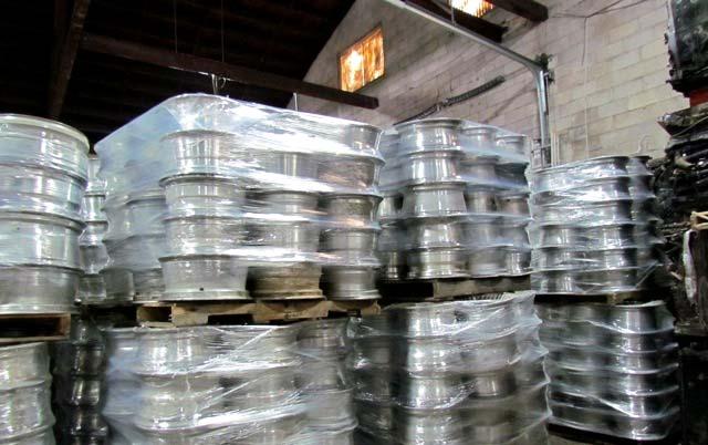 Aluminum Wheels Scrap