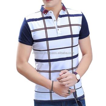 2016 Brand New Design Short-sleeve Slim Fit Polo Shirt For Men ...