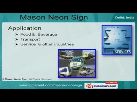 Digital Sign Boards By Mason Neon New Delhi