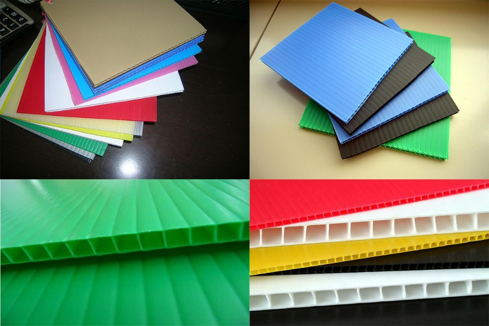 Fluted Polypropylene Correx Corrugated Plastic Sheet 4x8