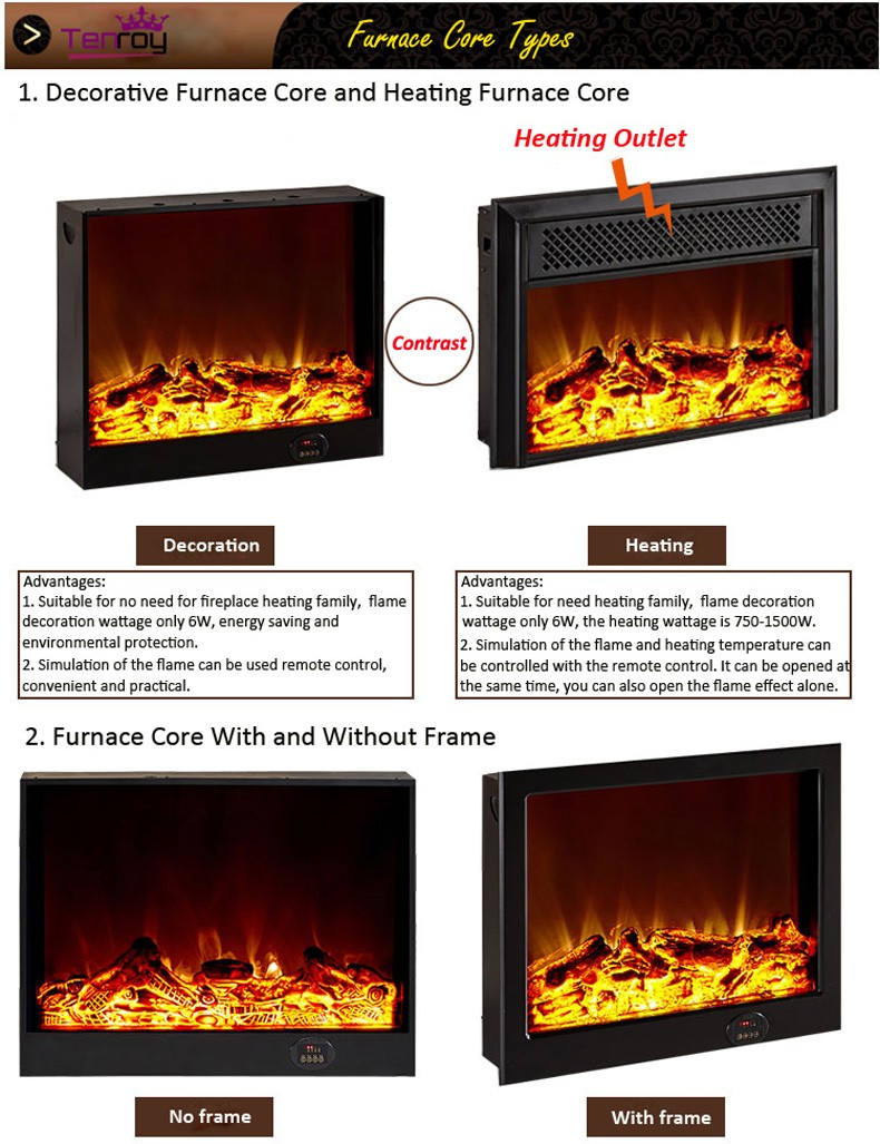 Plastic fireplace tv stand wood burning fireplace double sided fireplace with low price