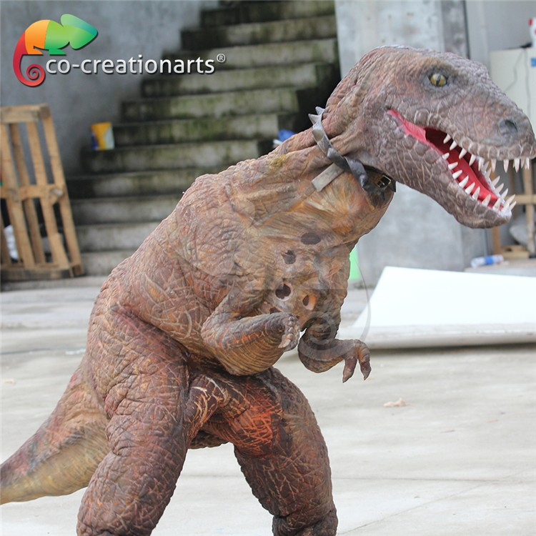 Co-y16101403 Silicon Rubber Foam Walking Dinosaur Costume