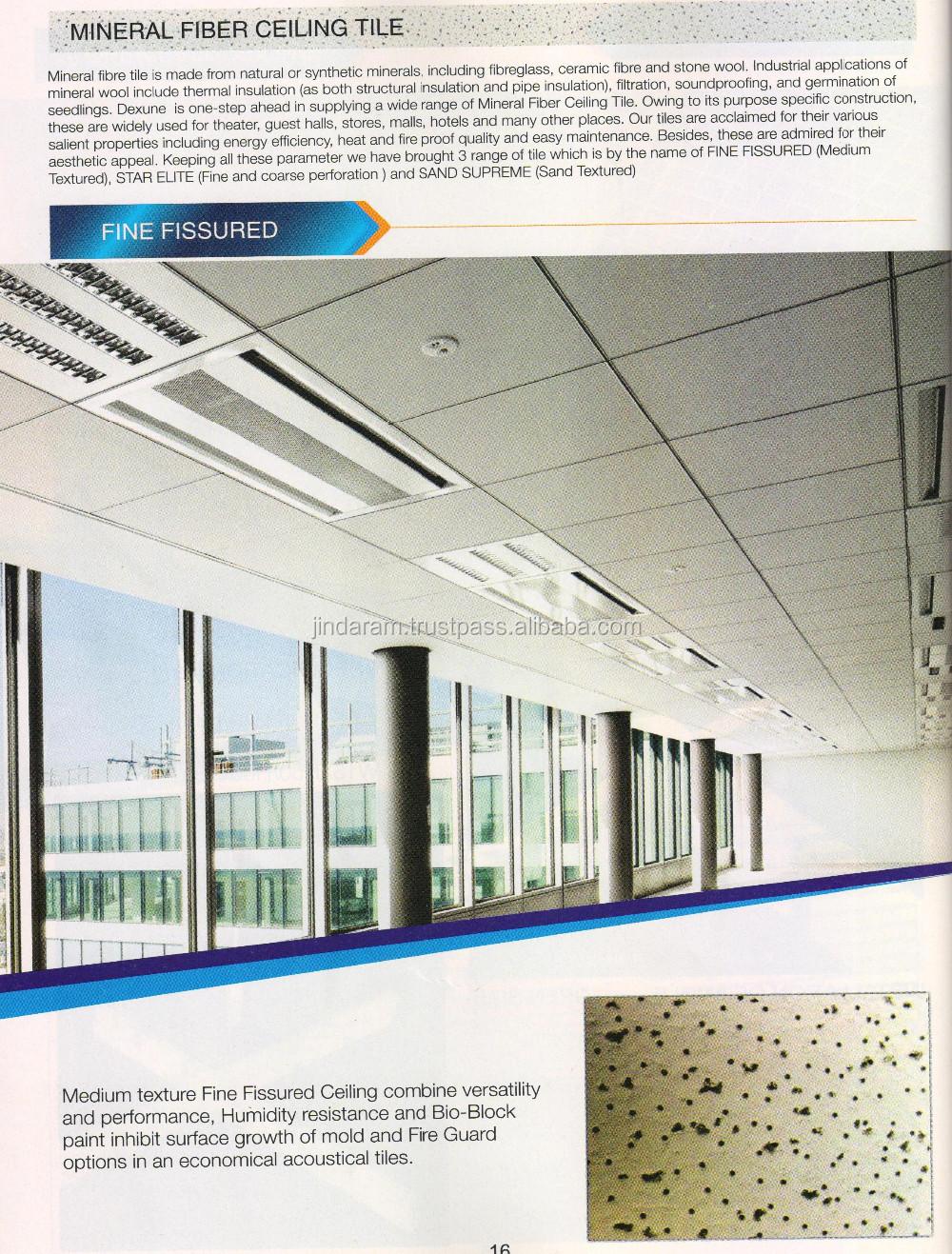 Mineral Fibre Fine Fissured Ceiling Tile Buy Mineral Fibre Fine Fissured Ceiling Tile Mineral Fibre Ceiling Mineral Fibre Ceiling Tile Product On