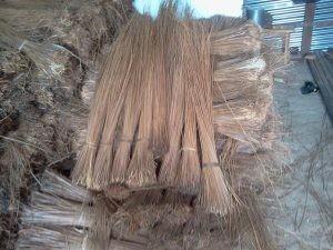 Dust Pan. Coconut Broom