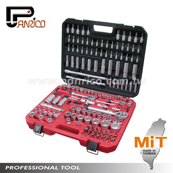Taiwan 155pcs Bits Socket Ratchet Wrench Set Of Auto Repair Hand ...