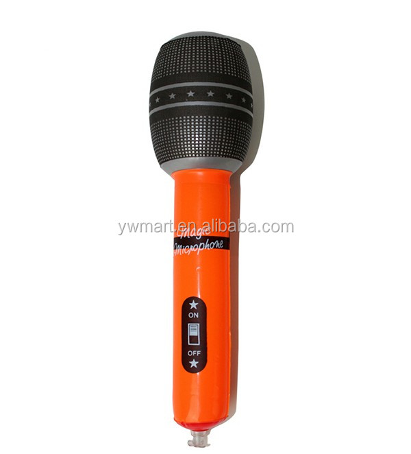 Inflatable Kids Plastic Toy Microphone - Buy Inflatable ...