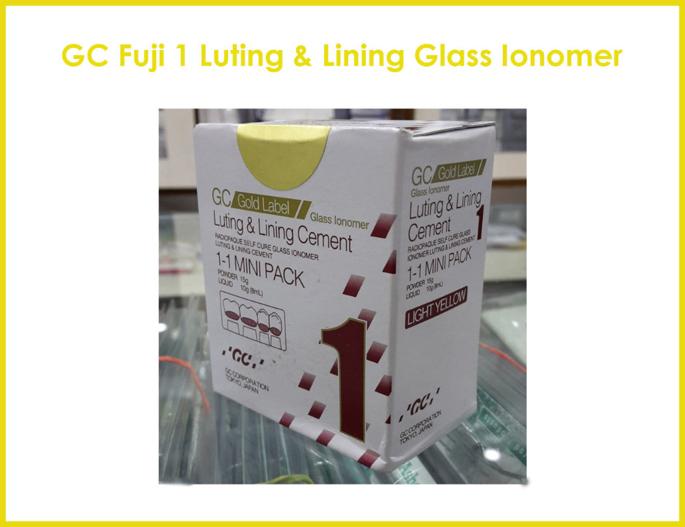 GC Fuji 1 Luting & Lining Glass Ionomer