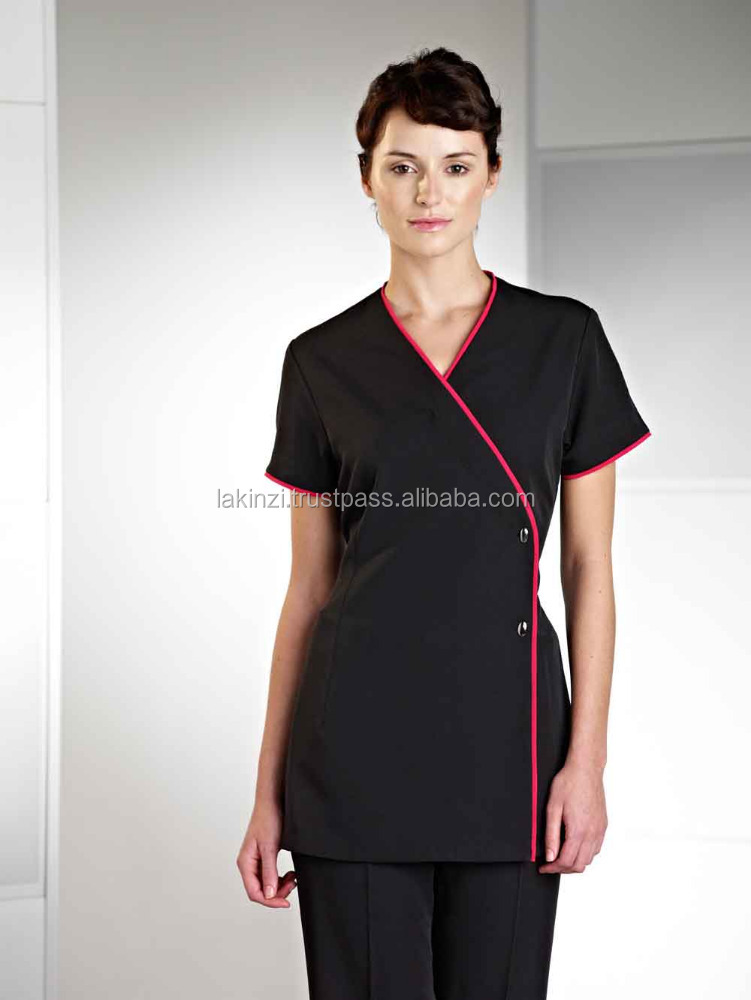 Gros belle salon spa uniforme pour esth ticienne uniforme for Uniform for spa staff