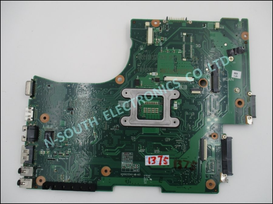 Motherboard For Toshiba C650 C655 L650 L655V000218010 6050a2332401