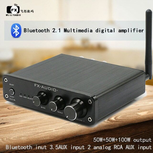 fx audio high power 2 1 channel bluetooth 4 0 digital audio