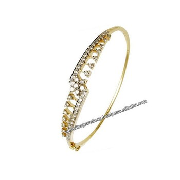 real diamond gold bracelet for girls from india buy