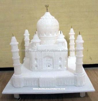 White Marble Taj Mahal Replica Gift Item Buy Taj Mahal Model Gift