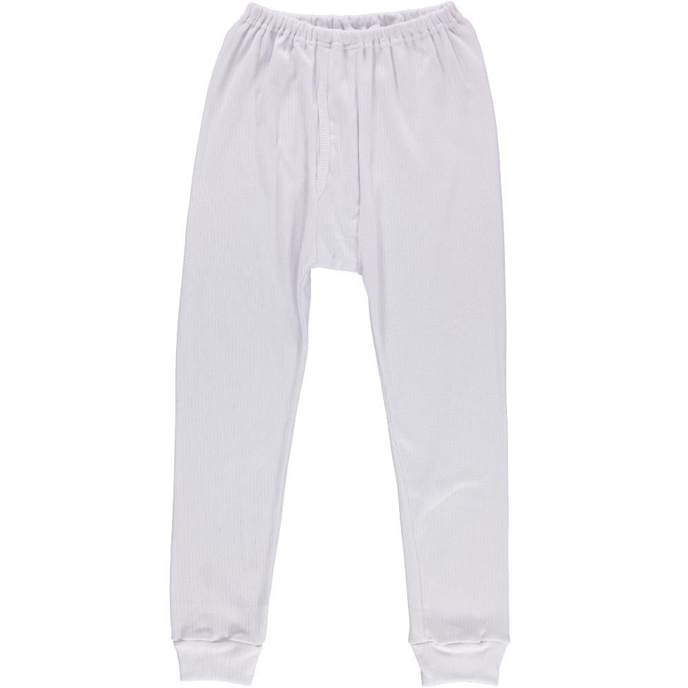 Men's White Long Johns Thick Underwear Size Xxxl Striped Underwear ...