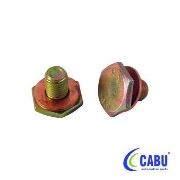 Oil Drain Plug With Sealing Ring For Tdci
