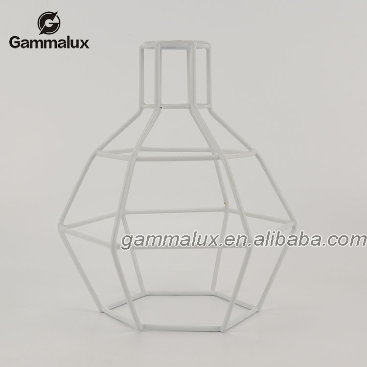 Stylish Cage Pendant Light  Iron Colorful Cage Pendant