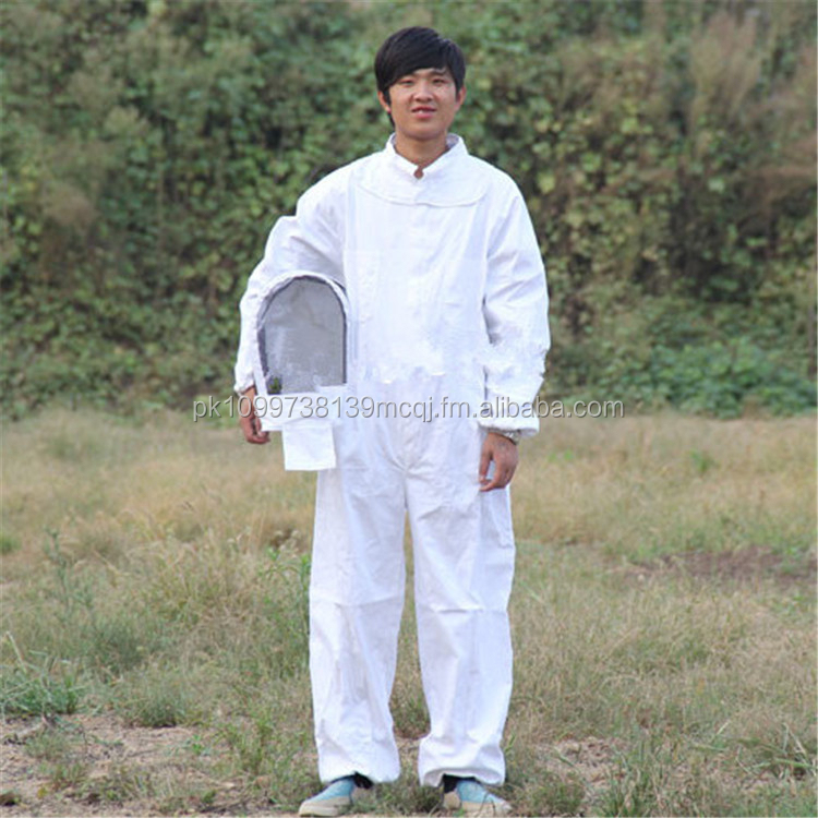 100% cotton full body beekeeping suit