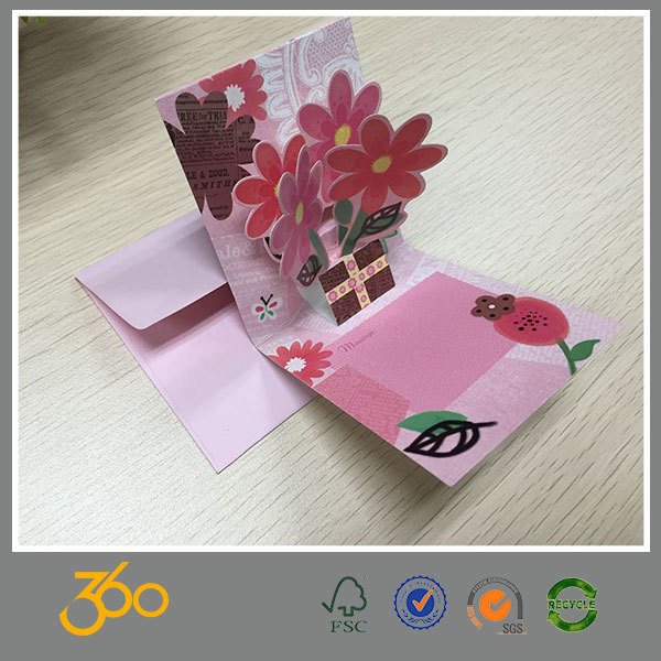 Customized Handmade Teacher's Day Greeting Card,Paper 3d ...