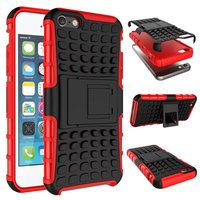 Dual Layer Slim Armor fundas Case Luxury Soft Hybrid Slim Back cases for iphone 4 4s 5 5s SE 5c 6 6s Plus 7 7 plus case cover