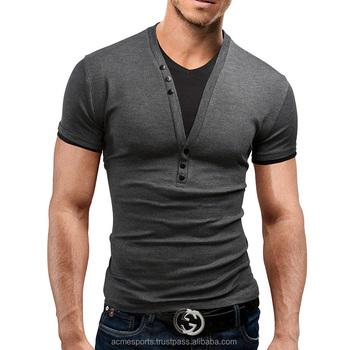 Designer V Neck T Shirts   V Neck T Shirts Fashion Design Mens V Neck Half Sleeve T Shirts