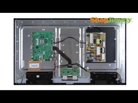 Samsung LCD TV Repair - Identifying Samsung T-Con Board Part Numbers - How to Fix Samsung LCD TVs
