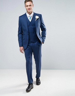 f32be59efe206 Custom made half canvas wool 120s mens navy blue suit pant coat men suit